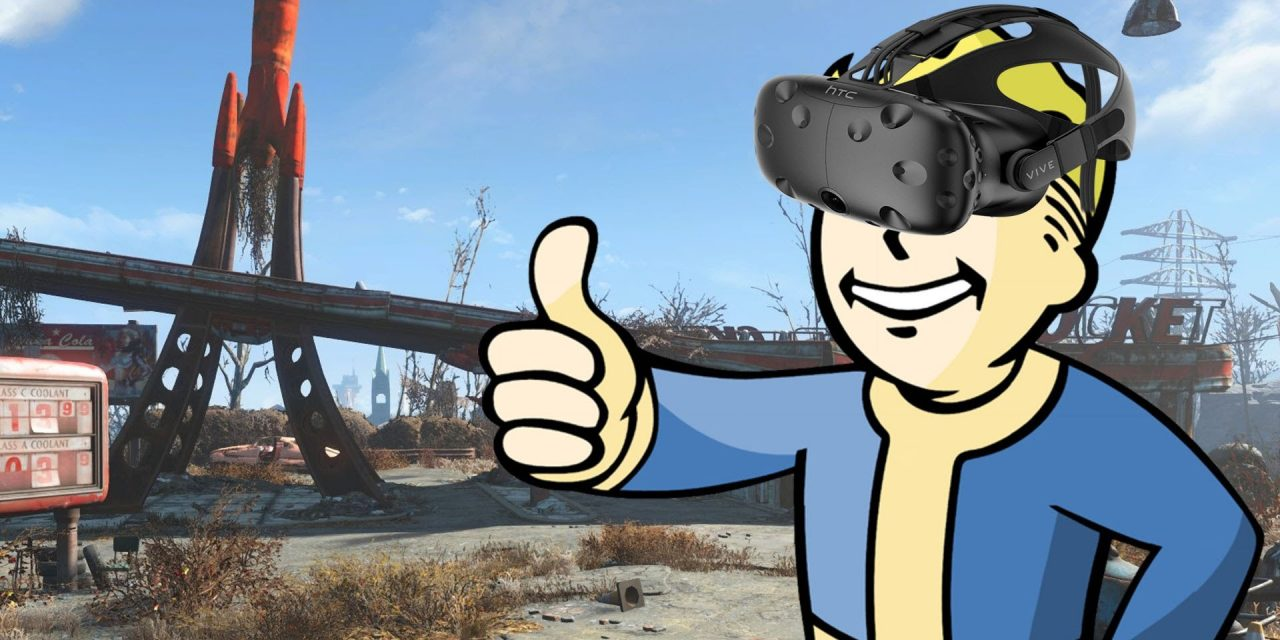 HTC Vives Will Now Come With A Free Copy of Fallout 4 VR