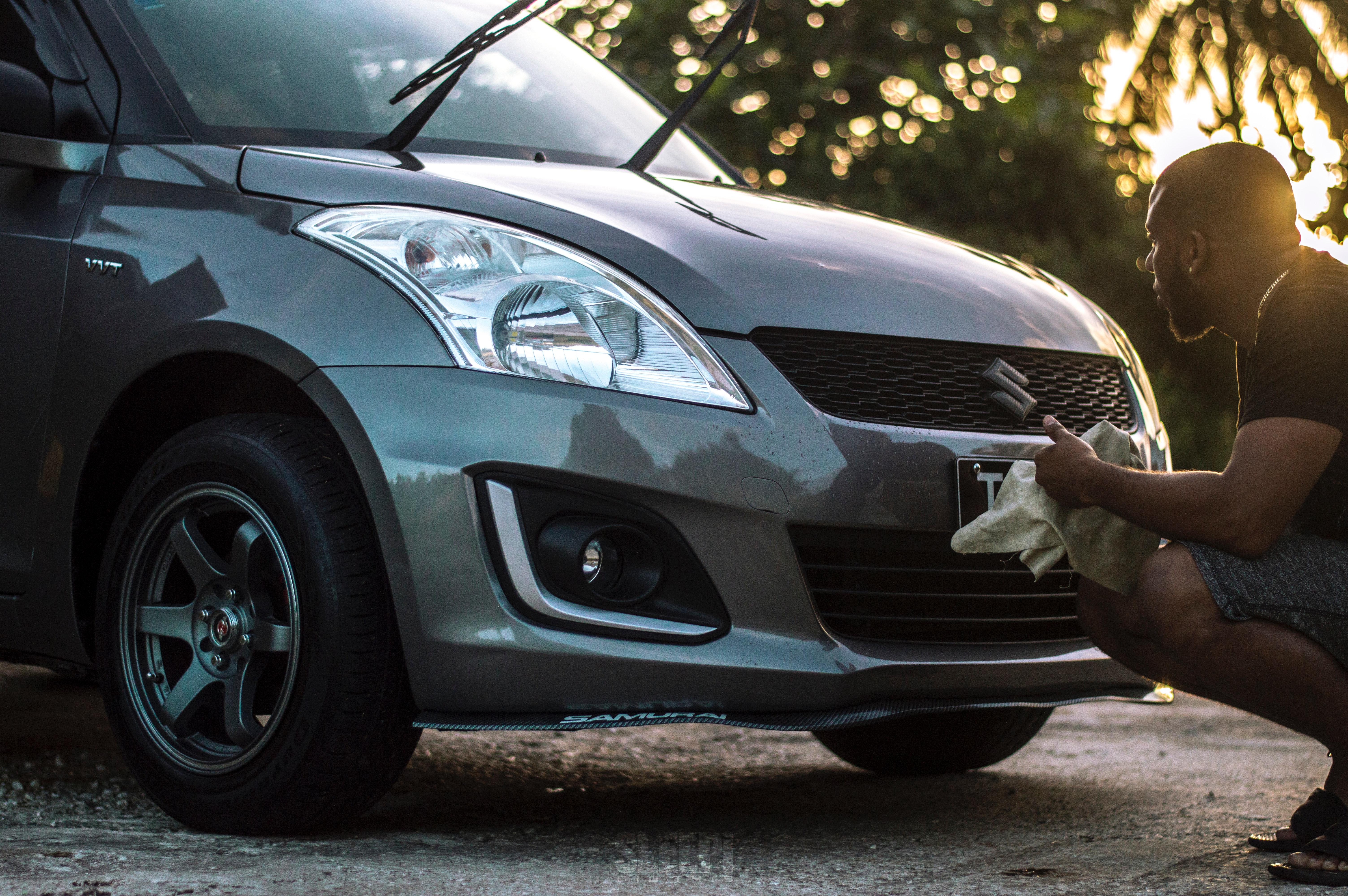 washing new car