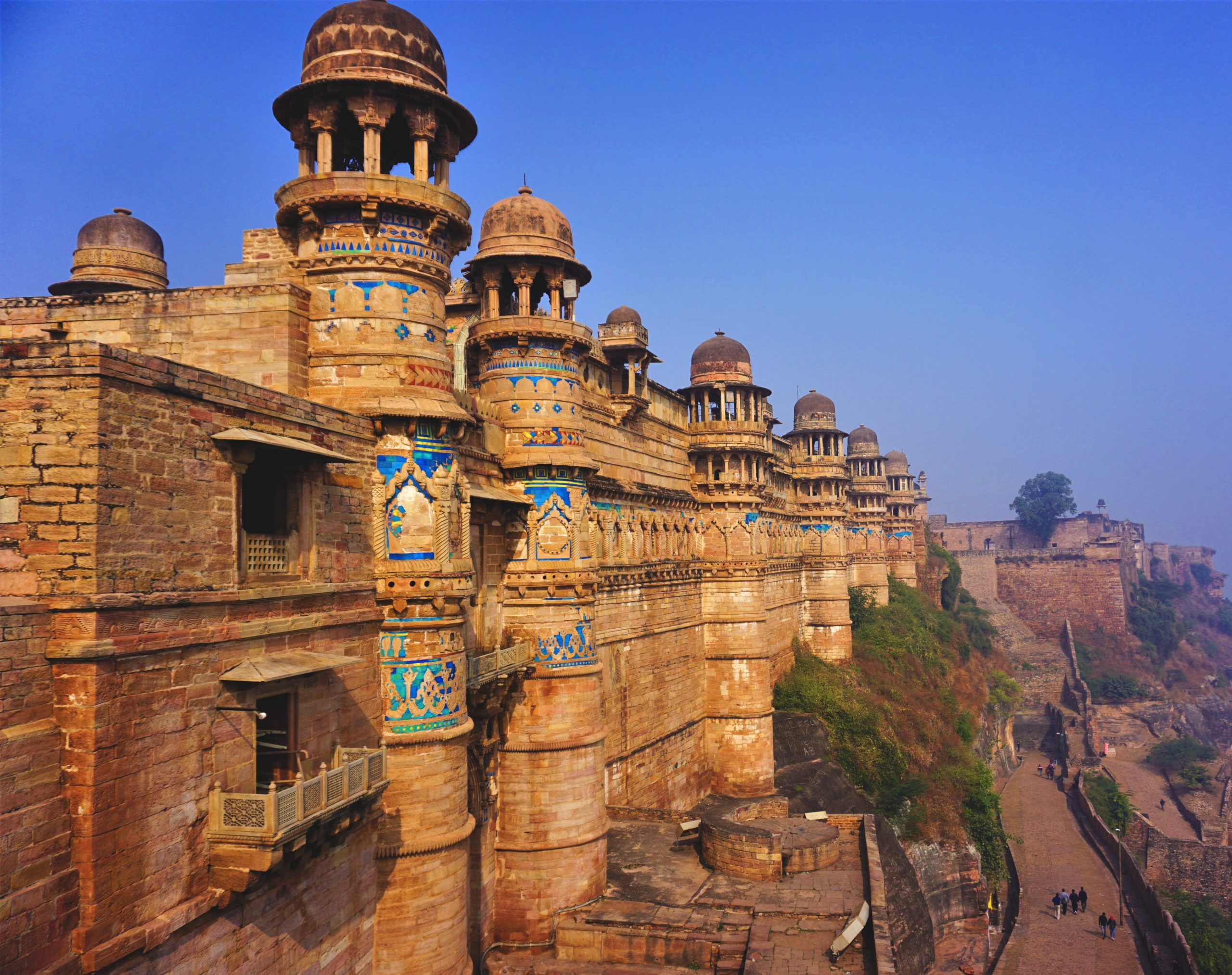 Gwalior Fort built by Raja Maan Singh Tomar.